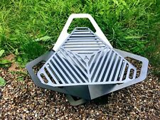 Stainless Steel Collapsible fire pit Bbq With  Grill