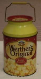 VINTAGE TIN  ** WERTHER`S ORIGINAL BUTTER CANDIES ** COLLECTABLE TIN (EMPTY)