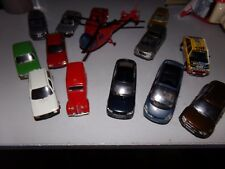 lots 14  voitures  miniatures solido eligor ixo..... 1/43 de collection