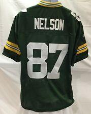 Green Bay Packers #87 Jordy Nelson Nfl Equipment Jersey Mens 48 / Large (Jg005)