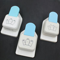 3 In 1 Hole Paper Punches Cutter Label Top Tag Bookmark Scrapbooking Craft DIY