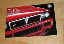 Lancia Delta HF Integrale Brochure 1992-1993