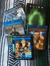 Sci-Fi Movie Collection 5 Movies Fifth Element Blade Runner Total Recall Alien