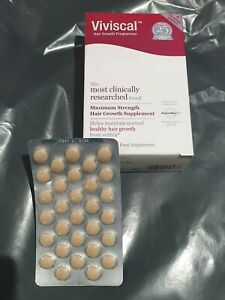 30 VIVISCAL  Maximum Strength Hair Growth Supply 30 tablets Without Box