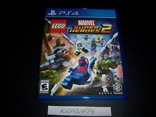 Replacement Case (NO GAME) Lego Marvel Super Heroes 2 Two PlayStation 4 PS4 Box