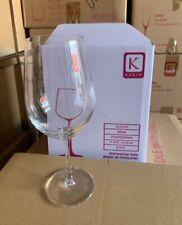 New listing Korin Sena chardonnay break resistant wine glasses, 480 ml 24 pieces