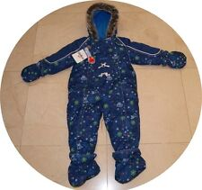 NEW Oshkosh Baby Boy Girl 1pc Coverall Cover-all Snow Winter Snowsuit 24 M