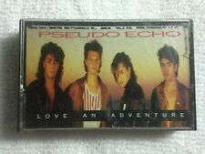 Pseudo Echo - Love an Adventure - 1987 Cassette Tape - RCA Records
