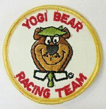 "1970's YOGI BEAR RACING TEAM embroidered shirt jacket 3"" patch"