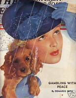 1939 Saturday Evening Post April 8-Money Making patents