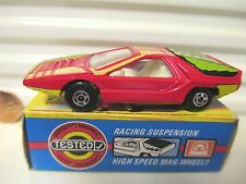 LESNEY MATCHBOX MB75B RED + Yellow Alfa Carabo *MINT IN A Near Mint Picture Box*