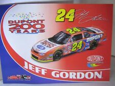 2002 Jeff Gordon 9Photos ( Exclusive card ) Dupont 200th anniversary1:64 Action
