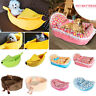 Cute Ingot Shaped Soft Coral Velvet Lace Pets Bed Warm Cat Nest Dog Xmas Kennel
