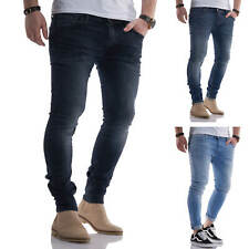 Jack & Jones Herren Jeans Skinny Fit Stretch Denim Used Look Herrenhose Hose