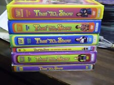 (6) That '70's Show Season DVD Lot: Seasons 1-5 + 7    w/Slipcovers   Mila Kunis