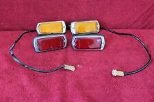 Datsun 280Z (260Z 240Z) front + rear side marker set RH + LH OEM used