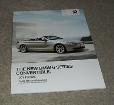 BMW 6 Series Convertible Brochure 2010 640i 650i