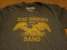 Zac Brown Band Mmxv Jekyll & Hyde Tour T-shirt 2015 Dark Gray - Size Small