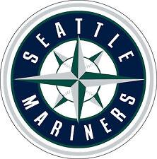 "Seattle Mariners MLB Baseball sticker wall decor large vinyl decal, 9.5 ""x 9.5"""