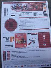 2 places pour le match de rugby RCToulon-Toulouse du 06/04/19 au stade vélodrome