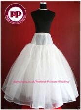 Combinaisons, jupons et cerceaux de mariée blanches en nylon