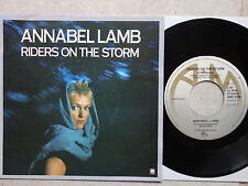 "Annabel Lamb ‎– Riders On The Storm  7"" Single  Doors Coverversion"