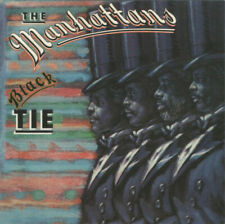 THE MANHATTANS - BLACK TIE CD ALBUM EXPANDED US 2014 FTG395 SOUL BLUES R&B NEW