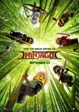 The Lego Ninjago Movie Poster A4 260gsm