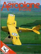 Aeroplane Monthly 1982 January Avro York,Flying Flea,Auster AOP,Skyship 500