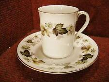 """ROYAL DOULTON """"LARCHMONT"""" Coffee Cup / Can & Saucer TC101"""