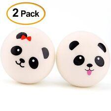 4 cm Jumbo Slow Rising Panda Squishy - 2 Pieces