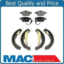 Front Ceramic Pads & Rear Brake Shoes B999 fits 11-12 VW Jetta With Rear Drums
