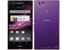SONY SO-02E XPERIA Z ANDROID WATERPROOF 13.1 MP SMARTPHONE UNLOCKED PURPLE