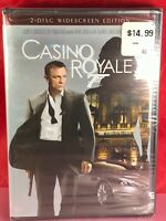 Casino Royale (DVD, 2007, 2-Disc Set, Widescreen) NEW - Shrink Wrapped