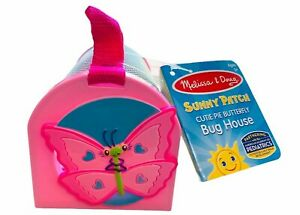 Melissa & Doug Cutie Pie Butterfly Bug House (Ages 3+) PINK