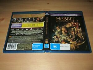 Hobbit - The Desolation of Smaug (Blu-ray, 2014, 2-Disc Set)