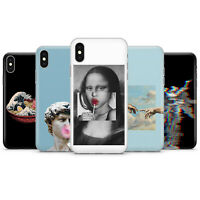 Aesthetic abstract art Phone case cover fits for iPhone 4 5 6 7 8 11 X/XS, XR