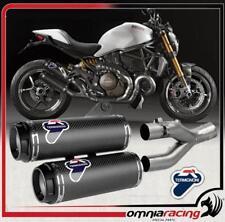 Termignoni D146 Terminale Scarico Carbon Racing Ducati Monster 1200S 17>18