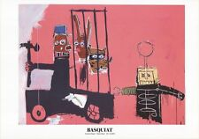 Molasses by Jean-Michel Basquiat Original 2010 Exhibition Poster Art Print 28x40