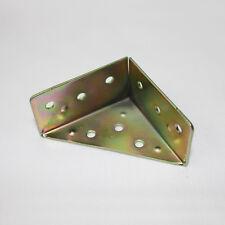 15 pcs Brass Iron 56x56x30 mm Corner Braces Angle Brackets Box Hardware GY-66
