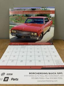 Gm Muscle Car Calendar 2014