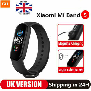 Original Xiaomi mi Band 5, Fitness Tracker Waterproof UK Global Version Bracelet