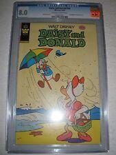 Whitman Comics Daisy and Donald # 46 CGC 8.0