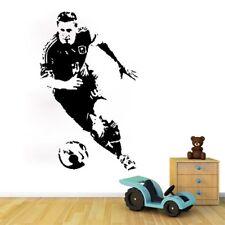 Wall Art Football Lionel Messi Wall Sticker Room Decal Wallpaper Sport Fan Gifts