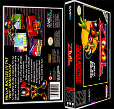 Zool Ninja of the Nth Dimension - SNES Reproduction Art Case/Box No Game.