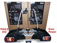 Thule Rear rack carrier Bicycle Euro power 915 füR 2 Wheels 13pol. silver new