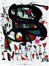 ADVERT CHARITY AMNESTY INTERNATIONAL SPAIN POSTER ART PRINT BB2179B