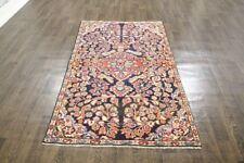 Persiano Tradizionale Lana Vintage 3.6 x 6.1 fatto a mano tappeti orientali RUG CARPET