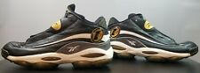 Reebok Allen Iverson The Answer DMX Black and Gold Basketball Shoes Size 13