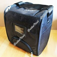 Harmony Gelish Black Sparkle Tech Bag Can Hold 18 bottles 18G LED Lamp All Tools